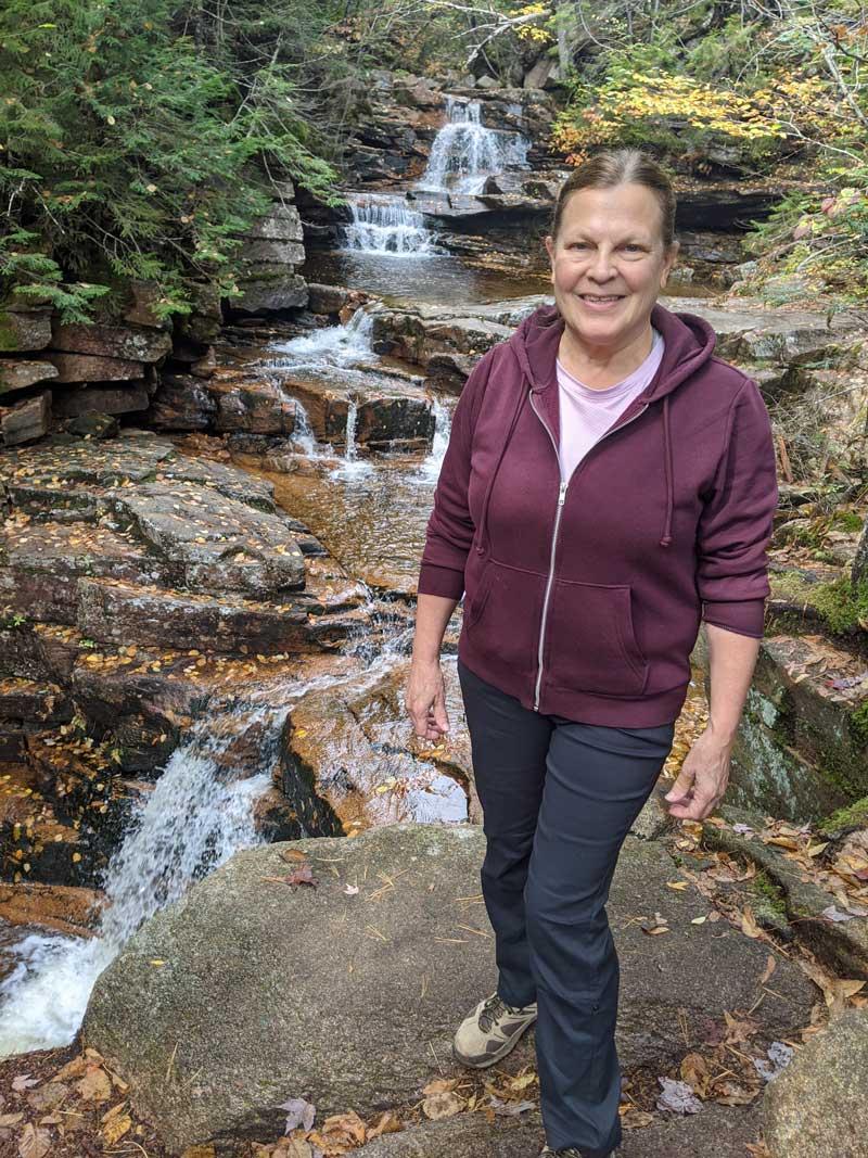 Ellie Boynton on a hike